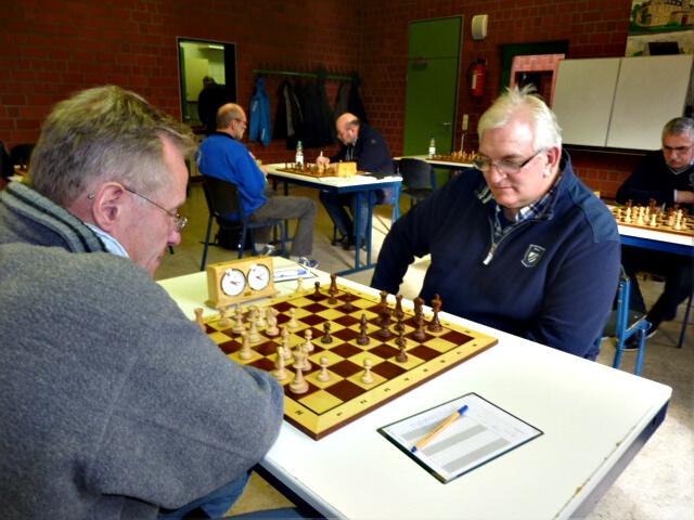 Karl Heinz Bleich im Mannschaftskampf Recklinghausen-Süd - Haltern