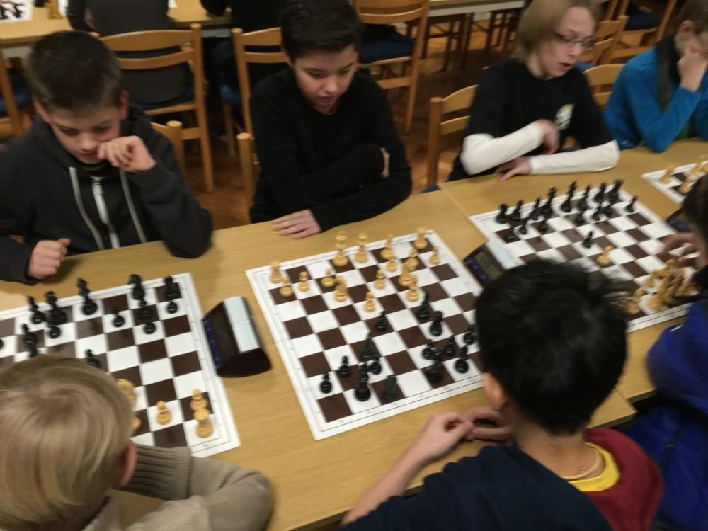 Das sieht nach Schach aus